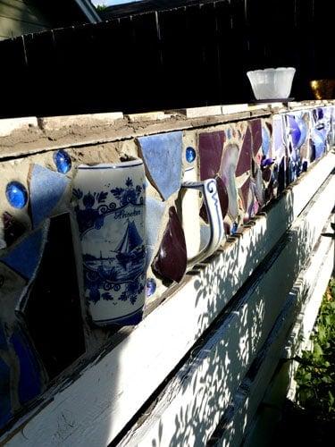 Blue-fence
