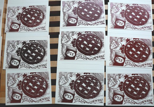Pie-cards