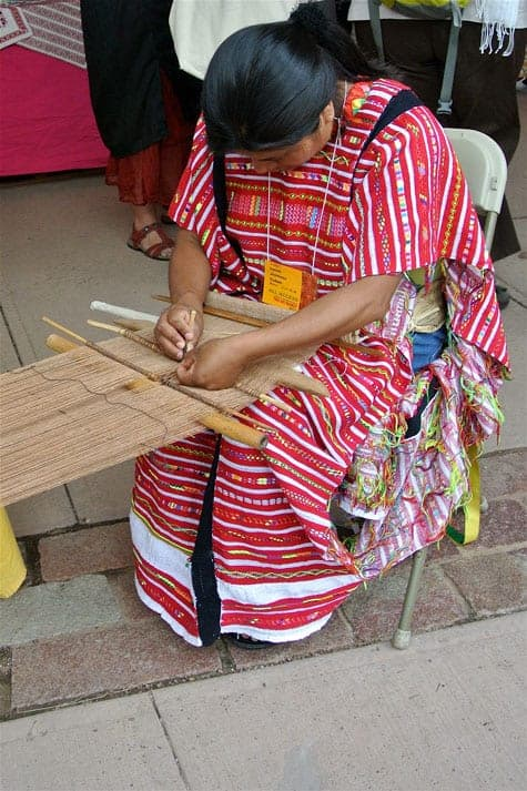 Indian-weaver